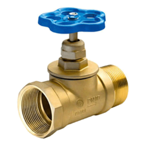 Клапан 65 мм, латунь (прямой) КПЛП 65-1(15Б3р) (муфта- цапка)