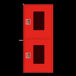 Шкаф пожарный ШПК 320 НОК навесной, открытый, красный