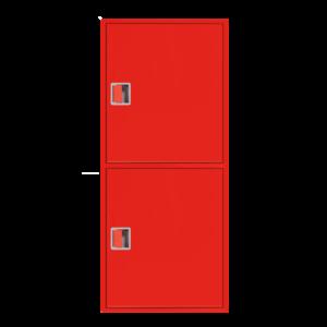 Шкаф пожарный ШПК 320 НЗК навесной, закрытый, красный