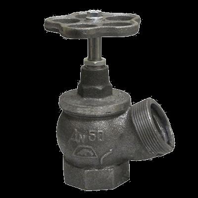 Клапан 51мм, чугун (угловой) РПТК-50