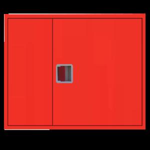 Шкаф пожарный ШПК 315 НЗК навесной, закрытый, красный