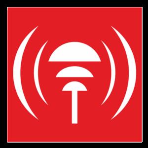 Знак - Пункт извещения о пожаре F12-01