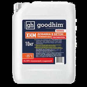 Жидкая противоморозная добавка с пластификатором до -25°С GOODHIM (Гудхим) FROST ХКМ